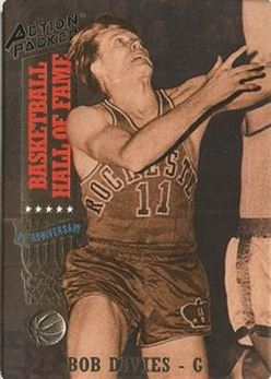 1993 Action Packed Hall of Fame - #25 - Bob Davies - Rochester Royals
