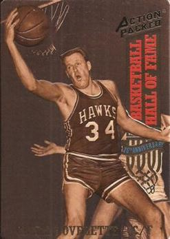 1993 Action Packed Hall of Fame - #30 - Clyde Lovellette - St. Louis Hawks