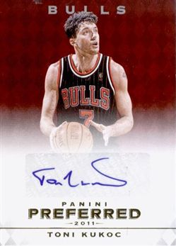 2011-12 Panini Preferred Toni Kukoc