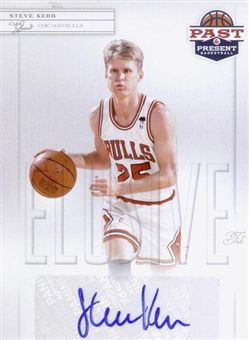 2011-12 Panini Past and Present Elusive Ink Autographs #SK Steve Kerr