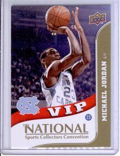 2010 Upper Deck National Convention VIP #VIP5 Michael Jordan