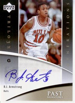 2006-07 Upper Deck Trilogy Generations Past Signatures B.J. Armstrong