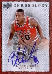 2007-08 Chronology Autographs B.J. Armstrong