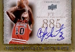 2007-08 Chronology Historically Accurate B.J. Armstrong /50