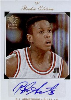 2007-08 SP Rookie Edition 1998-99 SP Autographs B.J. Armstrong
