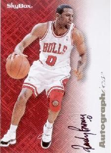 1996-97 Skybox Autographics Randy Brown