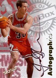 1997-98 Skybox Autographics Jud Buechler