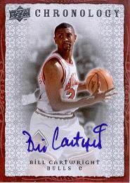 2007-08 Chronology Autographs Bill Cartwright