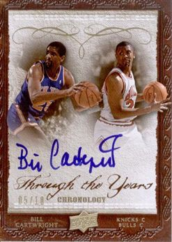 2007-08 Chronology Through the Years Gold Bill Cartwright /10