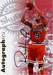 1997-98 SkyBox Premium Autographics Ron Harper