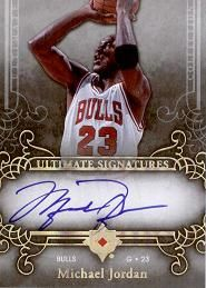 2006-07 Ultimate Collection Signatures Michael Jordan