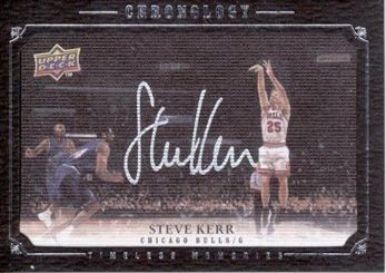 2007-08 Chronology Steve Kerr AU /99