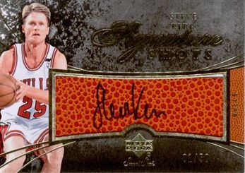 2007-08 Sweet Shot Signature Shots Steve Kerr /50