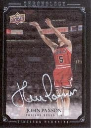 2007-08 Chronology John Paxson AU /99