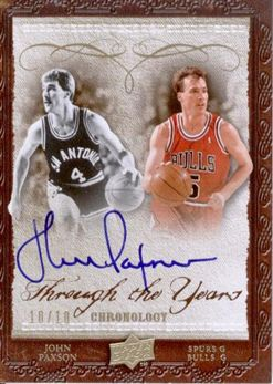 2007-08 Chronology Through the Years Gold  John Paxson /10