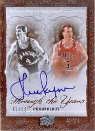 2007-08 Chronology Through the Years John Paxson /50