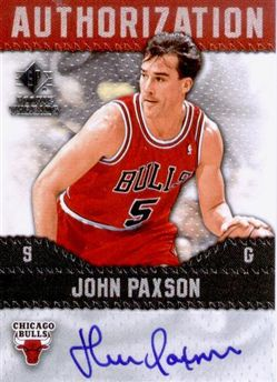 2008-09 SP Rookie Threads Authorization John Paxson