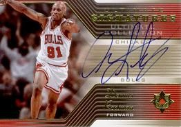 2004-05 Ultimate Collection Signatures RO Dennis Rodman