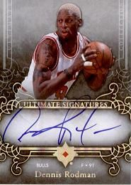 2006-07 Ultimate Collection Signatures USRO Dennis Rodman