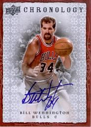 2007-08 Chronology Autographs Bill Wennington