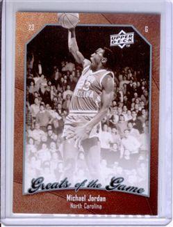 2009-10 Greats of the Game #6 Michael Jordan