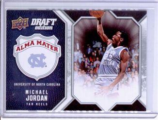 2009-10 Upper Deck Draft Edition Alma Mater #AMMJ Michael Jordan