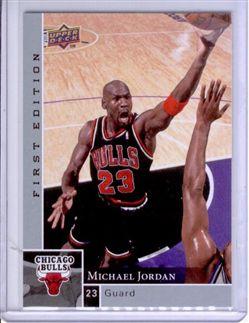 2009-10 Upper Deck First Edition #23 Michael Jordan