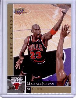 2009-10 Upper Deck First Edition Gold #23 Michael Jordan