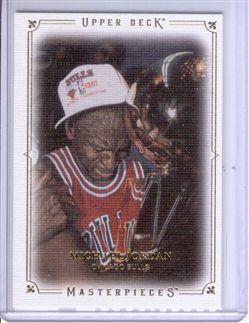 2009-10 Upper Deck Masterpieces #MAJO Michael Jordan