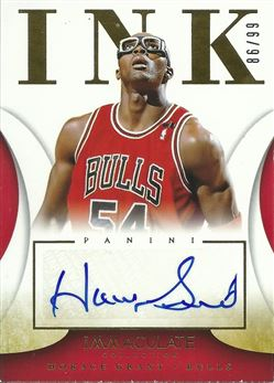 2013-14 Immaculate Collection Ink #40 Horace Grant /99