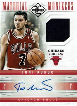 2012-13 Limited Monikers Materials #42 Toni Kukoc/99