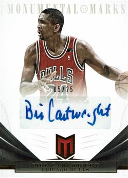 2012-13 Momentum Monumental Marks #96 Bill Cartwright/25