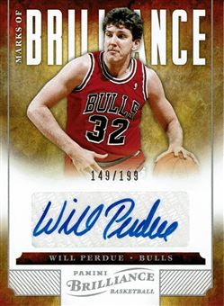 2012-13 Panini Brilliance Marks of Brilliance #82 Will Perdue/199