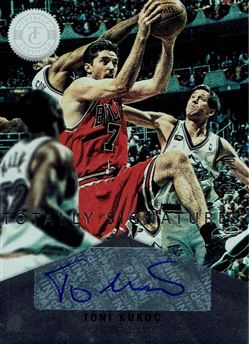 2012-13 Totally Certified Autographs #96 Toni Kukoc/49