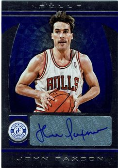 2013-14 Totally Certified Autographs Blue #52 John Paxson/49