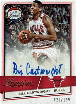 2015-16 Prestige Old School Signatures #40 Bill Cartwright/199