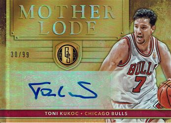 2016-17 Panini Gold Standard Mother Lode Autographs #10 Toni Kukoc/99
