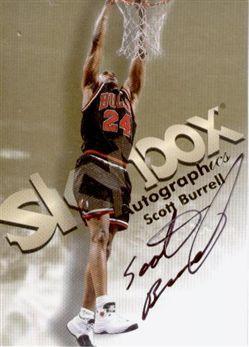 1998-99 SkyBox Premium Autographics Scott Burrell
