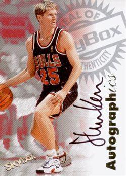 1997-98 SkyBox Premium Autographics Steve Kerr