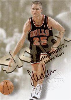 1998-99 SkyBox Premium Autographics Steve Kerr