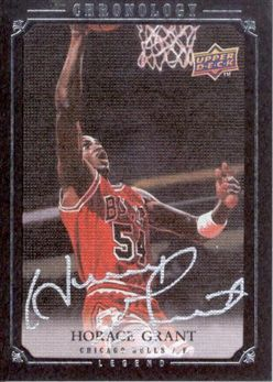 2007-08 Chronology Horace Grant AU /99