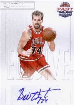 2011-12 Panini Past and Present Elusive Ink Autographs #BW Bill Wennington