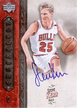 2006-07 Chronology Autographs #85 Steve Kerr