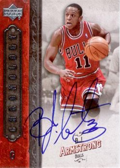 2006-07 Chronology Autographs #9 B.J. Armstrong