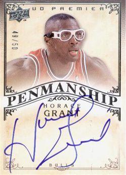 2007-08 Upper Deck Premier Penmanship Autographs #HO Horace Grant