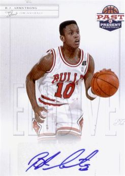 2011-12 Panini Past and Present Elusive Ink Autographs #BA B.J. Armstrong