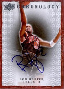 2007-08 Chronology Autographs Ron Harper