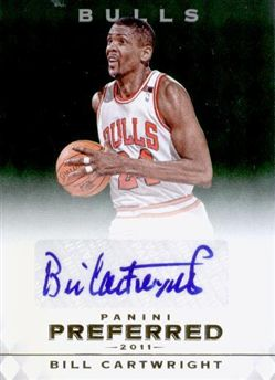 2011-12 Panini Preferred Emerald Bill Cartwright PS /5