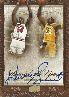 2007-08 Chronology Through the Years Gold #TEHO Horace Grant /10