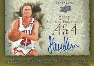 2007-08 Chronology Historically Accurate #HASK Steve Kerr /50